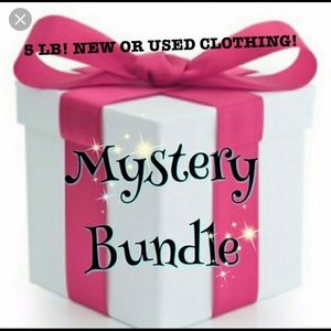 5 LBS OF NEW OR USED MYSTERY CLOTHING!